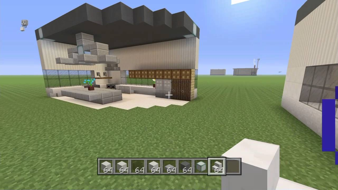 Minecraft Modern Kitchen How To Make A Simple Modern Kitchen Ps3 Ps4 Xbox Youtube