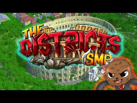"""Minecraft : The Districts SMP """"HUNGER GAMES SHOWDOWN"""" #5 CHALLENGE"""