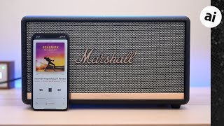 Review: Marshall Stanmore II is an Impressively Loud Bluetooth Speaker