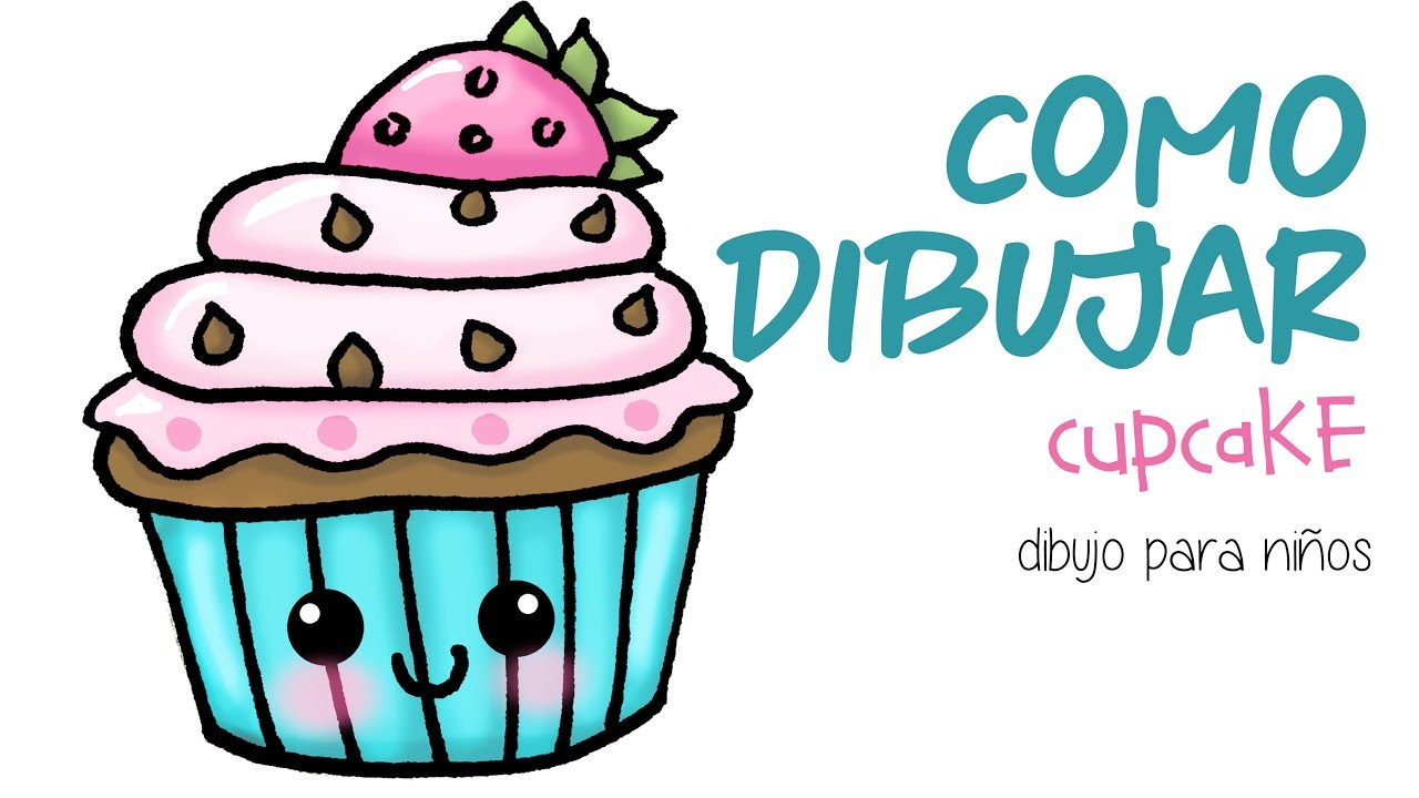 Moderno Cupcake Para Colorear Ideas - Enmarcado Para Colorear ...