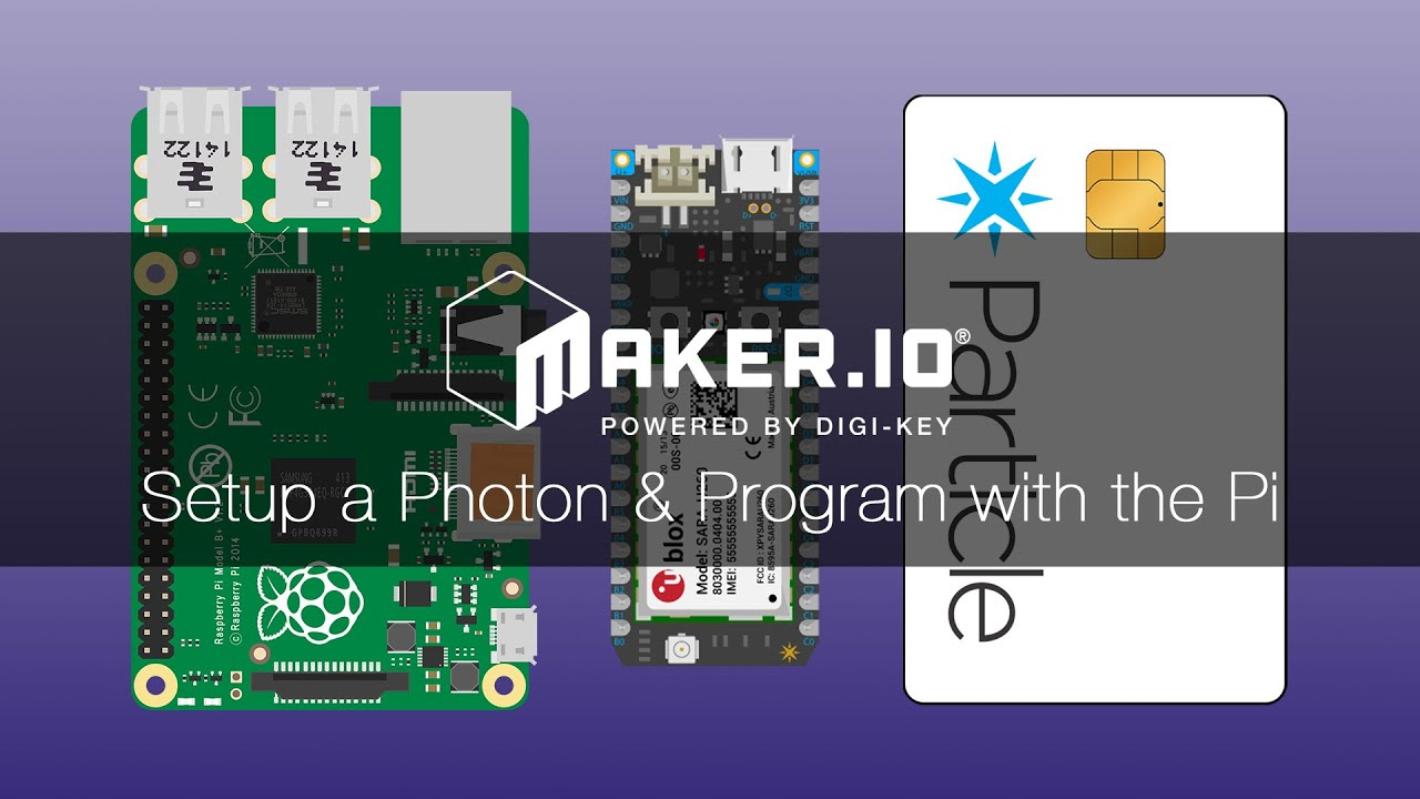 How to Setup a Photon and Program with the Pi