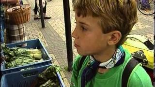 Deutsch lernen mit Jens und seinen Freunden. Folge 6 - Einkaufen auf dem Markt