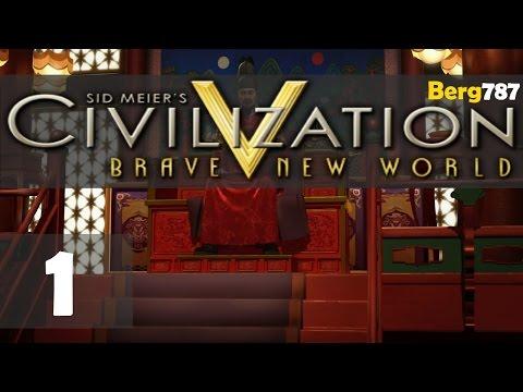 Civilization 5 | Lets Play Korea | Deity | #1