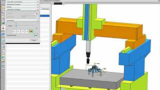 nx cmm demonstration of inspection programming software