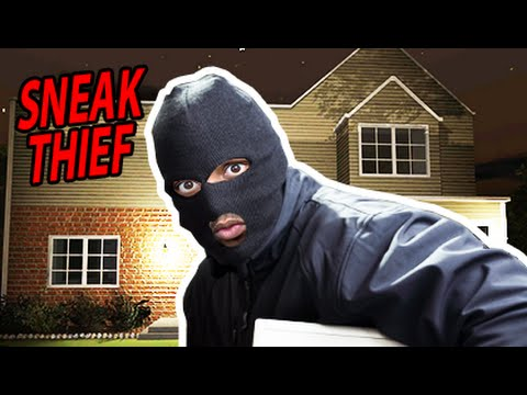 HOW TO ROB A HOUSE! | Sneak Thief