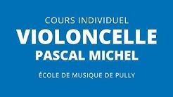EMP - Ecole de Musique (Pully) – Notre professeur de violoncelle Pascal Michel