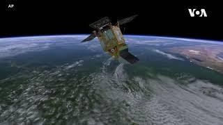 利用人造卫星监测空气污染状况