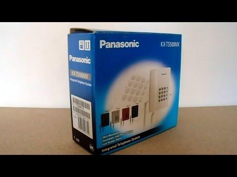 PANASONIC KX-TS500MX BLACK Terminal Telefónico Analógico - 1/5