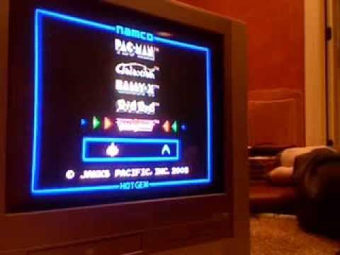 Pacman And More Namco To Tv (Plug And Play