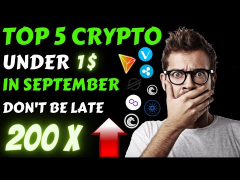 Top 5 Crypto Under 1$ | Best Cryptocurrency To Invest 2021| Best Crypto To Buy Now | Top Altcoins