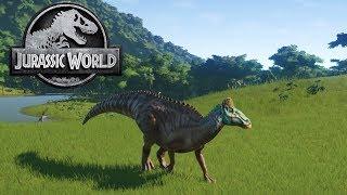 EDMONTOSAURUS IS BORN - Jurassic World Evolution Gameplay #2