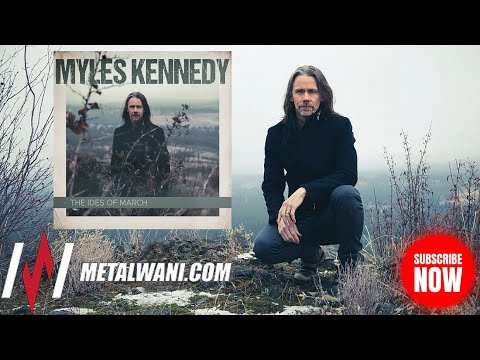 MYLES KENNEDY on 'The Ides of March', Rediscovering His Love of Lead Guitar & Azrael Kennedy