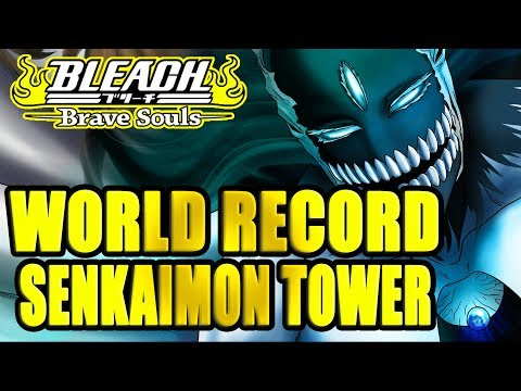 🏆🏆WORLD RECORD + BEATING A MODDER + SENKAIMON CHALLENGE FOR YOU!! 🏆🏆  Bleach Brave Souls