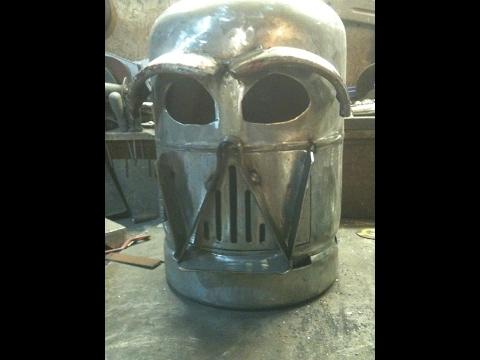 Darth  Vader wood burner build part 2