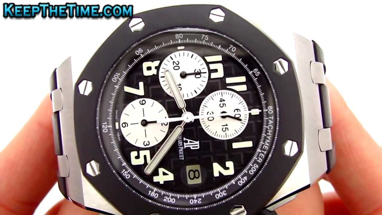bb3235c5c8d AUDEMARS PIGUET Royal Oak Offshore AP ROO Hands-On HD Video - YouTube