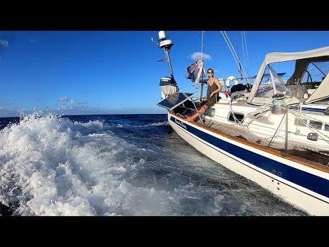 Sailing Bermuda to Antigua - HR54 Cloudy Bay, Dec 2018