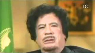 Muammar Gaddafi Farts During Interview