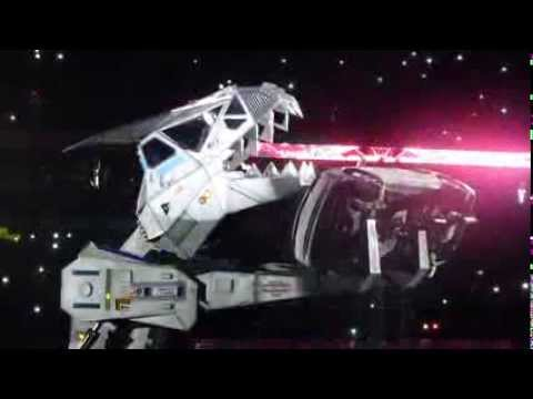 Robosaurus - Monster Jam 2014 - San Antonio, TX 1-12-14
