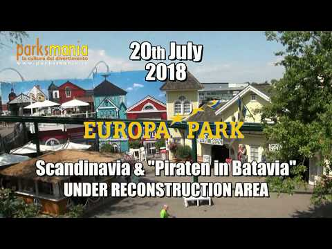 EUROPA PARK: Scandinavia & Piraten in Batavia (Reconstruction Area)