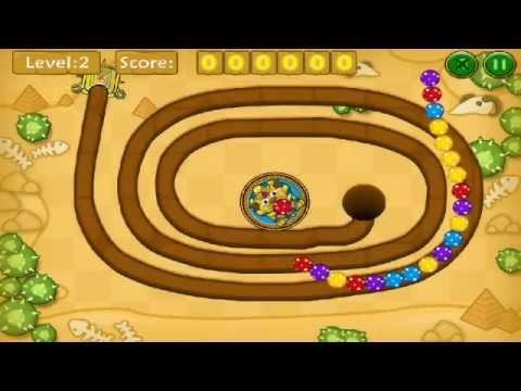 Глюк у казуальній грі Jungle Marble Blast Youtube