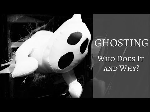 Dating terms like ghosting