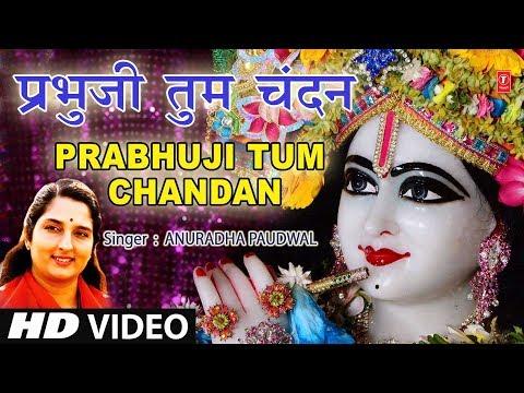 श्रीहरि का अति सुंदर भजन, प्रभुजी तुम चंदन हम पानी, Prabhuji Tum Chandan Hum Pani, ANURADHA PAUDWAL