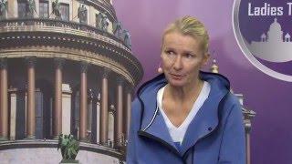 Jana Novotna  St.Petersburg Ladies Trophy 12.02.2016