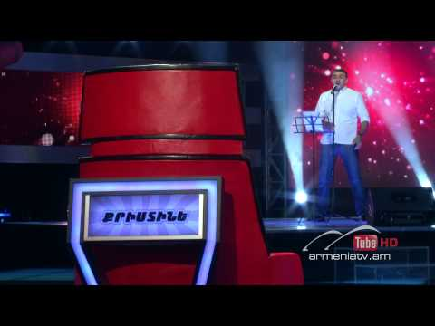 Mkrtich Arzumanyan,You Are So Beautiful - The Voice Of Armenia - Blind Auditions - Season 2