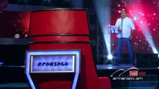 Mkrtich Arzumanyan You Are So Beautiful The Voice Of Armenia Blind Auditions Season 2