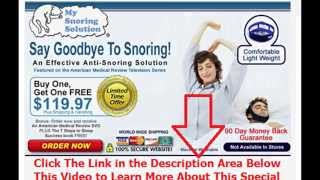 snoring mouth guards nz | Say Goodbye To Snoring