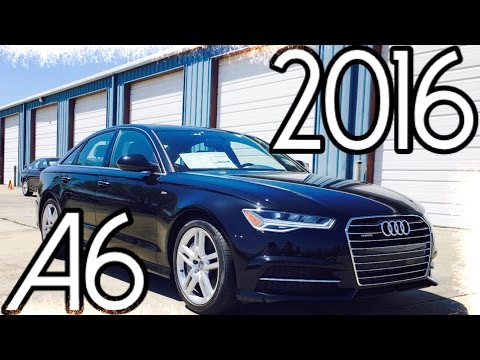 2016 Audi A6 2.0T Quattro Full Review, Start Up, Exhaust