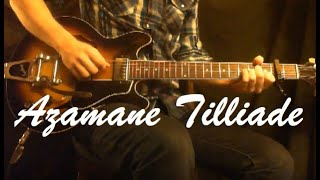 Bombino - Azamane Tilliade (Guitar Cover)