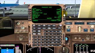 Tutorial en español configuracion FMC Pre-flight Boeing 747 PMDG FSX