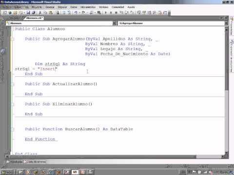 Arquitectura de software programaci n en 3 capas parte 2 for Arquitectura de capas software