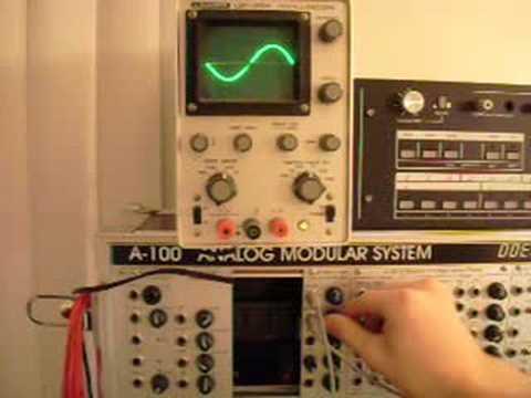 Doepfer A-189-1 VC Bit Modifier Modular Demo