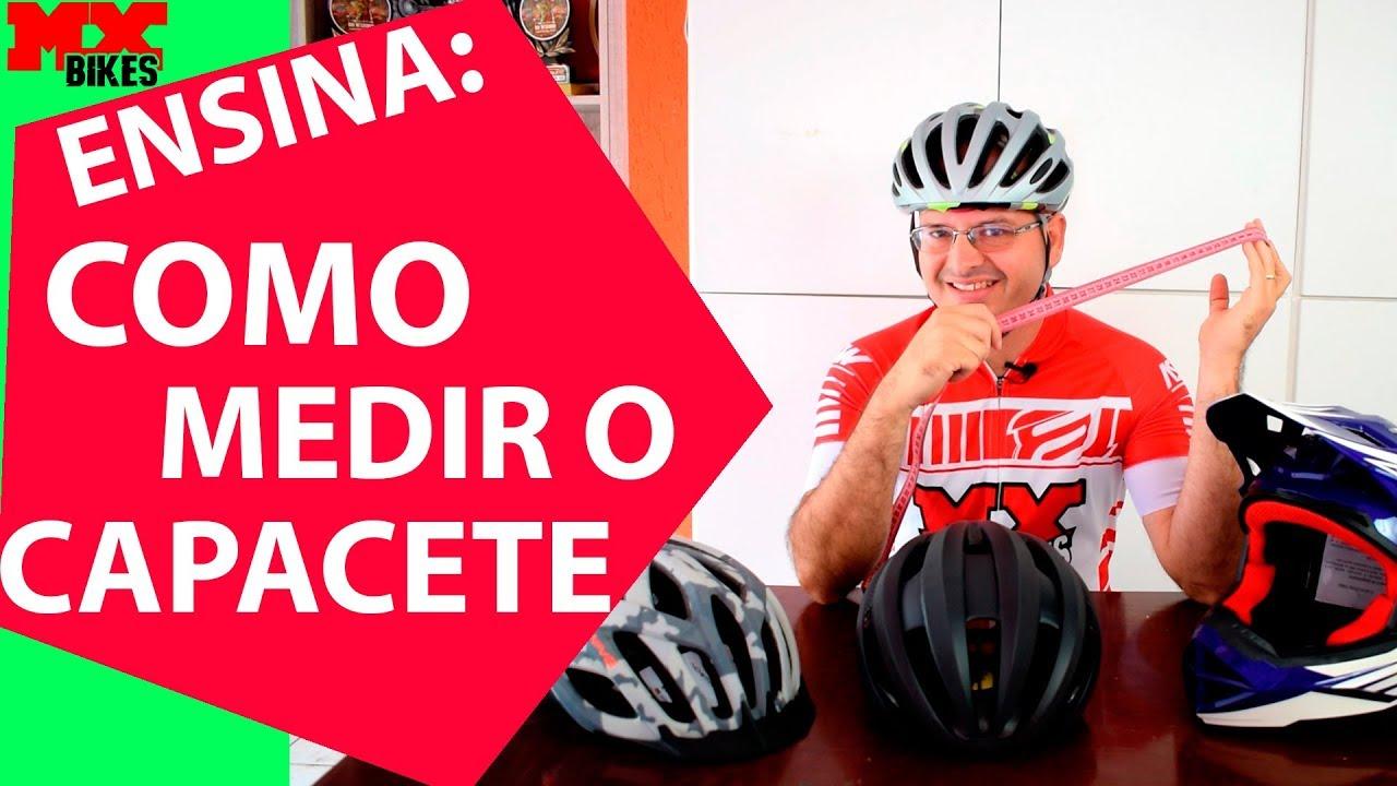 3ecf8f3a8 Mx Ensina  Como medir o capacete para ciclismo - YouTube