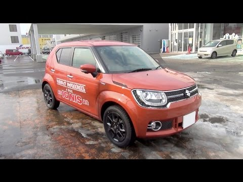 2016 suzuki ignis hybrid mz 4wd exterior interior youtube. Black Bedroom Furniture Sets. Home Design Ideas