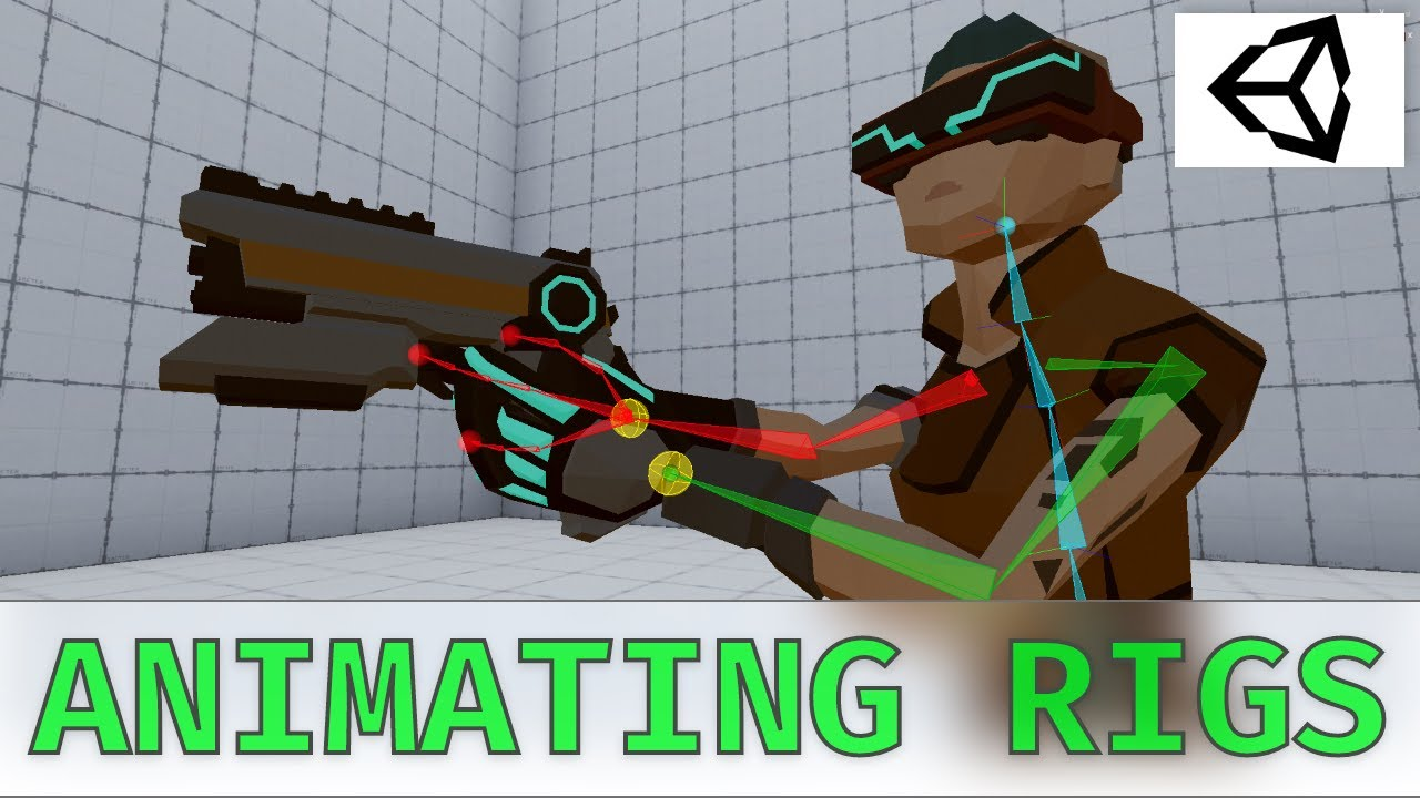 Unity Animation Rigging: Keyframing Rig Constraints to create weapon animations