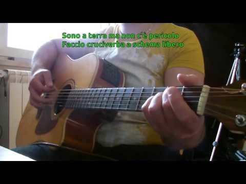 Nina Zilli - Schema libero (feat. Neffa) KARAOKE GUITAR