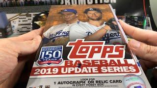 2019 Topps Update Hobby SNEAK PEEK - Baseball Cards Box Opening