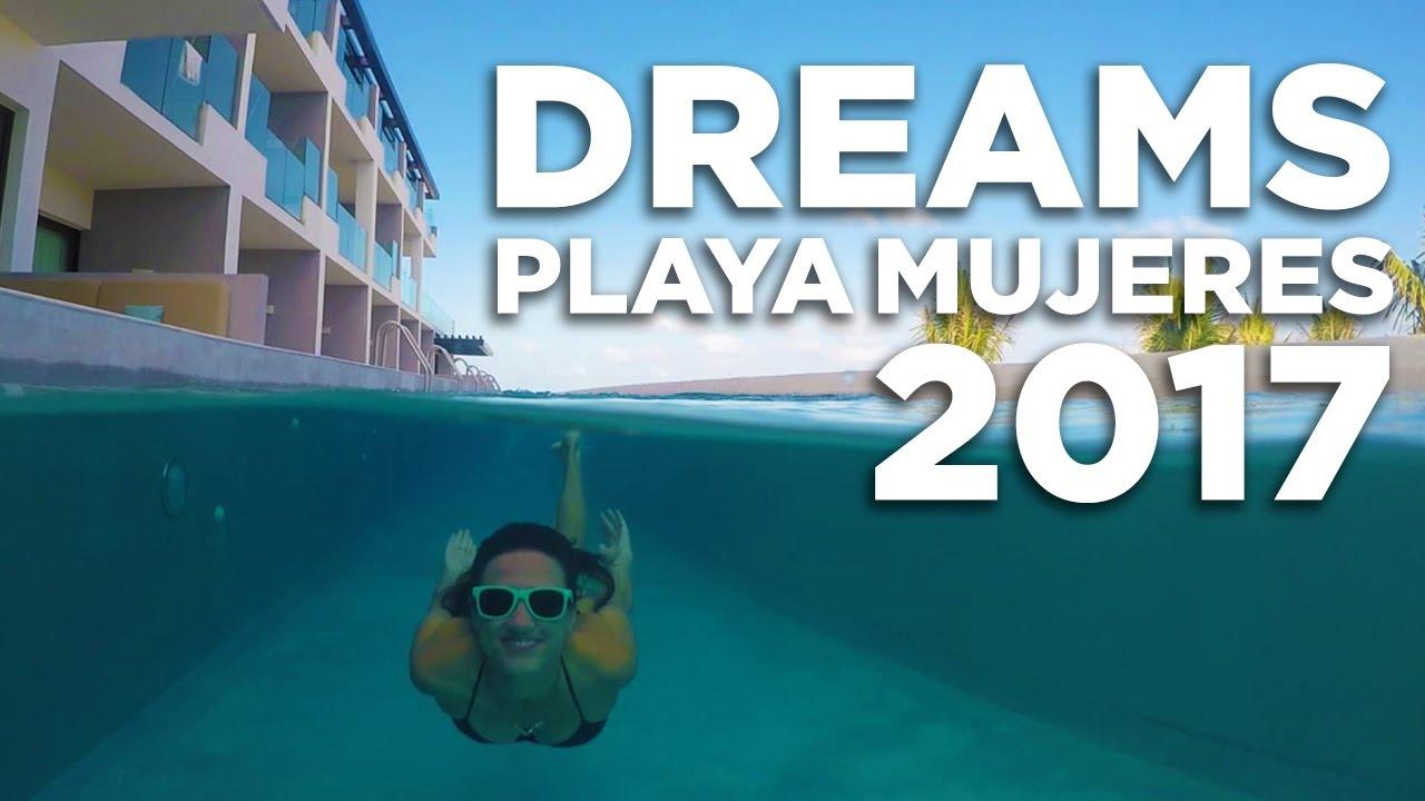 Dreams Playa Mujeres Vacation Travel Video Tour 2017