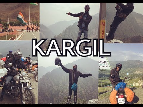 Part - 3 | Delhi to Ladakh | Srinagar to Kargil