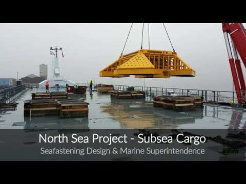 Coaster Shipping - North Sea Project - Delivery of Subsea Cargo