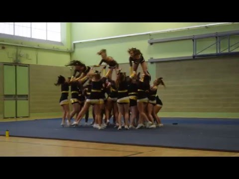 Glasgow University Cheerleading at QMU Showcase