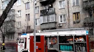 Брошенный с балкона окурок стал причиной пожара в двух квартирах!