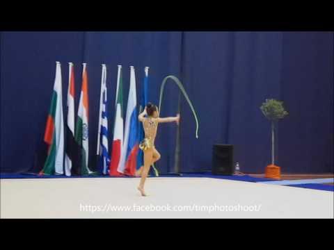 Elvira Krasnobaeva 2008,Greece,Kalamata 24.02.2017,Rope,1place