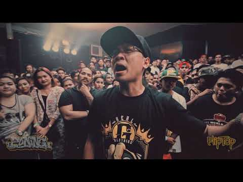 FlipTop - LilJohn vs Khen Magat (3 Weeks Preparation)