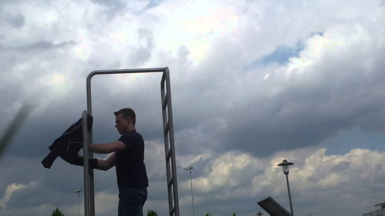 human flag / muscle up - youtube, Muscles