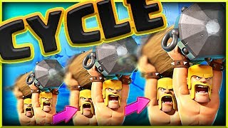 This CYCLE DECK works! • Clash Royale Battle Ram Deck!