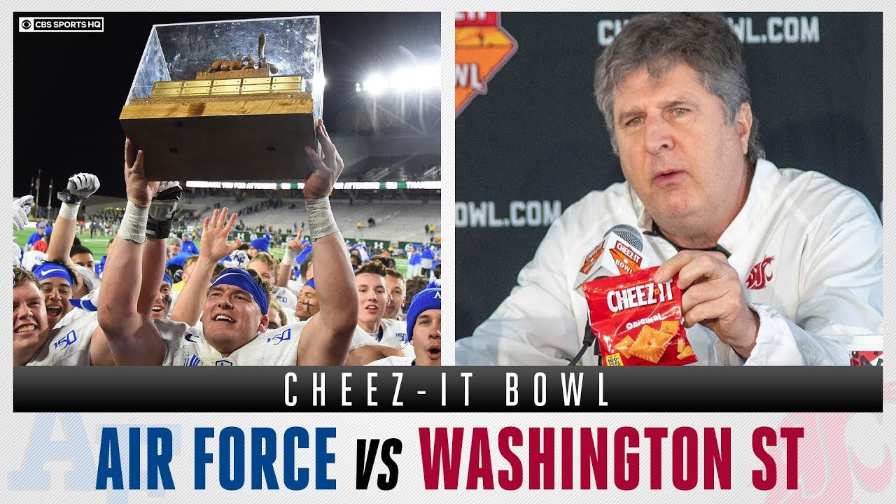 2019 Cheez-It Bowl odds, line: Air Force vs. Washington State picks ...